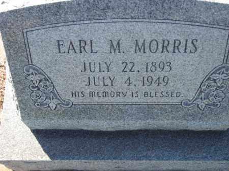 MORRIS, EARL M. - Poinsett County, Arkansas | EARL M. MORRIS - Arkansas Gravestone Photos