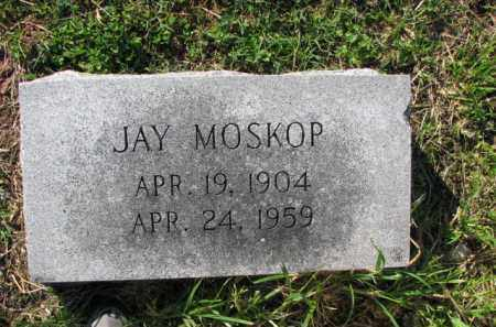 MOSKOP, JAY - Poinsett County, Arkansas | JAY MOSKOP - Arkansas Gravestone Photos