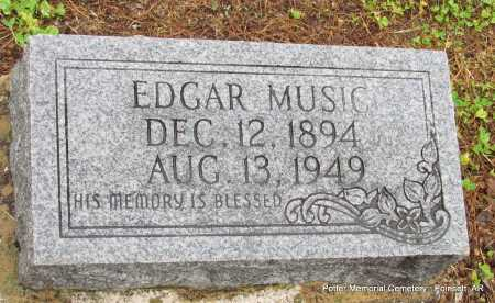 MUSIC, EDGAR - Poinsett County, Arkansas | EDGAR MUSIC - Arkansas Gravestone Photos