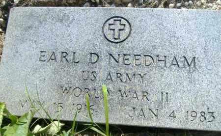 NEEDHAM  (VETERAN WWII), EARL D. - Poinsett County, Arkansas | EARL D. NEEDHAM  (VETERAN WWII) - Arkansas Gravestone Photos