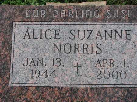 NORRIS, ALICE SUZANNE - Poinsett County, Arkansas | ALICE SUZANNE NORRIS - Arkansas Gravestone Photos