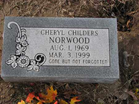 NORWOOD, CHERYL - Poinsett County, Arkansas | CHERYL NORWOOD - Arkansas Gravestone Photos