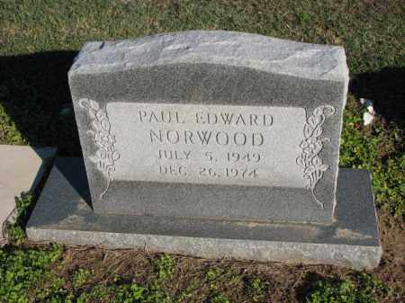 NORWOOD, PAUL EDWARD - Poinsett County, Arkansas | PAUL EDWARD NORWOOD - Arkansas Gravestone Photos