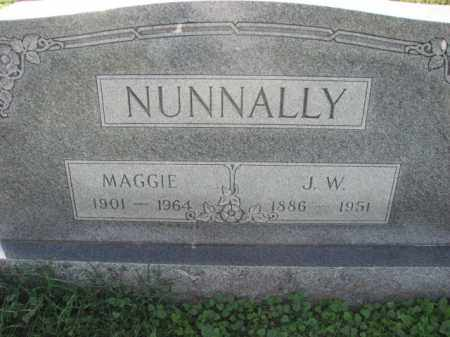 NUNNALLY, J.W. - Poinsett County, Arkansas | J.W. NUNNALLY - Arkansas Gravestone Photos