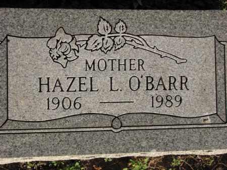 O'BARR, HAZEL L. - Poinsett County, Arkansas   HAZEL L. O'BARR - Arkansas Gravestone Photos