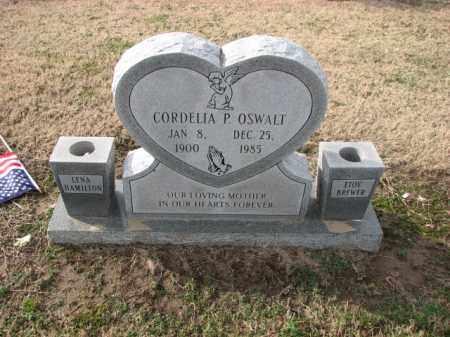 OSWALT, CORDELIA P. - Poinsett County, Arkansas   CORDELIA P. OSWALT - Arkansas Gravestone Photos