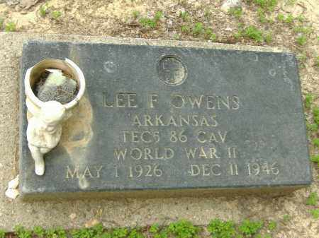 OWENS  (VETERAN WWII), LEE F - Poinsett County, Arkansas | LEE F OWENS  (VETERAN WWII) - Arkansas Gravestone Photos