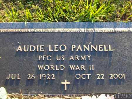 PANNELL  (VETERAN WWII), AUDIE LEO - Poinsett County, Arkansas | AUDIE LEO PANNELL  (VETERAN WWII) - Arkansas Gravestone Photos