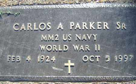 PARKER, SR  (VETERAN WWII), CARLOS A - Poinsett County, Arkansas | CARLOS A PARKER, SR  (VETERAN WWII) - Arkansas Gravestone Photos