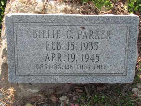 PARKER, BILLIE C. - Poinsett County, Arkansas | BILLIE C. PARKER - Arkansas Gravestone Photos