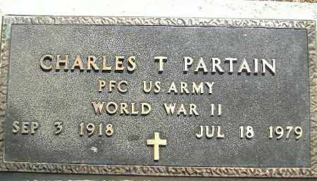 PARTAIN  (VETERAN WWII), CHARLES T. - Poinsett County, Arkansas | CHARLES T. PARTAIN  (VETERAN WWII) - Arkansas Gravestone Photos