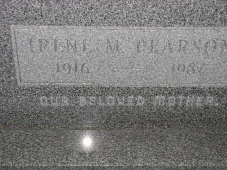 PEARSON, IRENE M. - Poinsett County, Arkansas | IRENE M. PEARSON - Arkansas Gravestone Photos