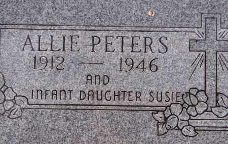 PETERS, ALLIE - Poinsett County, Arkansas | ALLIE PETERS - Arkansas Gravestone Photos