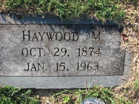 PETTIGREW, HAYWOOD M. - Poinsett County, Arkansas | HAYWOOD M. PETTIGREW - Arkansas Gravestone Photos
