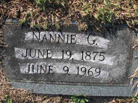 PETTIGREW, NANNIE G. - Poinsett County, Arkansas | NANNIE G. PETTIGREW - Arkansas Gravestone Photos