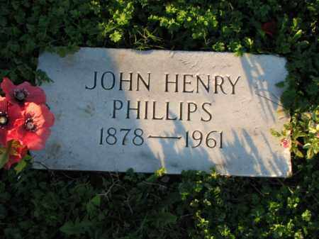 PHILLIPS, JOHN HENRY - Poinsett County, Arkansas | JOHN HENRY PHILLIPS - Arkansas Gravestone Photos