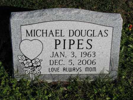 PIPES, MICHAEL DOUGLAS - Poinsett County, Arkansas | MICHAEL DOUGLAS PIPES - Arkansas Gravestone Photos