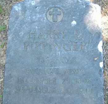 PIPPINGER  (VETERAN), HARRY L. - Poinsett County, Arkansas | HARRY L. PIPPINGER  (VETERAN) - Arkansas Gravestone Photos