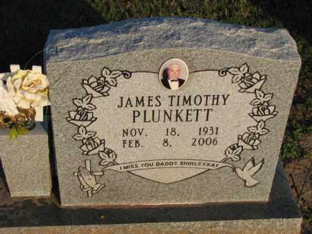PLUNKETT, JAMES TIMOTHY - Poinsett County, Arkansas | JAMES TIMOTHY PLUNKETT - Arkansas Gravestone Photos