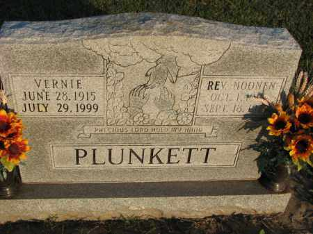 PLUNKETT, VERNIE - Poinsett County, Arkansas | VERNIE PLUNKETT - Arkansas Gravestone Photos