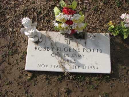 POTTS (VETERAN KOR), BOBBY EUGENE - Poinsett County, Arkansas | BOBBY EUGENE POTTS (VETERAN KOR) - Arkansas Gravestone Photos