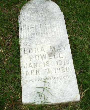 POWELL, LORA MAY - Poinsett County, Arkansas | LORA MAY POWELL - Arkansas Gravestone Photos
