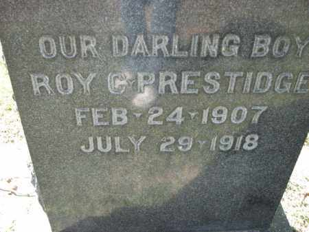 PRESTIDGE, ROY C. - Poinsett County, Arkansas | ROY C. PRESTIDGE - Arkansas Gravestone Photos