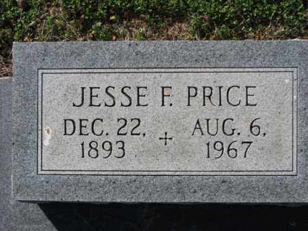 PRICE, JESSE F. - Poinsett County, Arkansas | JESSE F. PRICE - Arkansas Gravestone Photos