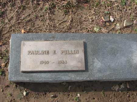 PULLIN, PAULINE E. - Poinsett County, Arkansas | PAULINE E. PULLIN - Arkansas Gravestone Photos