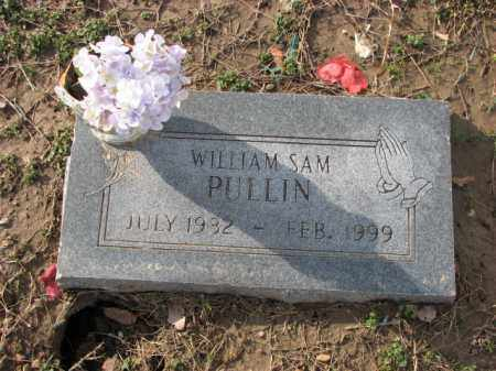 PULLIN, WILLIAM SAM - Poinsett County, Arkansas | WILLIAM SAM PULLIN - Arkansas Gravestone Photos