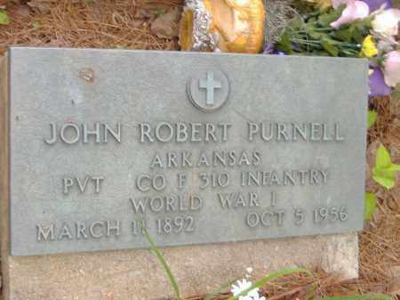 PURNELL  (VETERAN WWII), JOHN ROBERT - Poinsett County, Arkansas | JOHN ROBERT PURNELL  (VETERAN WWII) - Arkansas Gravestone Photos