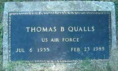 QUALLS  (VETERAN), THOMAS B. - Poinsett County, Arkansas | THOMAS B. QUALLS  (VETERAN) - Arkansas Gravestone Photos