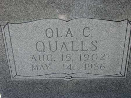 QUALLS, OLA C. - Poinsett County, Arkansas | OLA C. QUALLS - Arkansas Gravestone Photos
