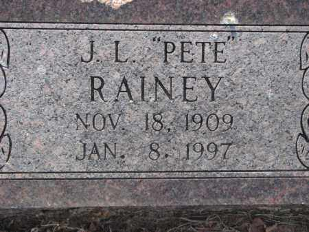 "RAINEY, J.L. ""PETE"" - Poinsett County, Arkansas 