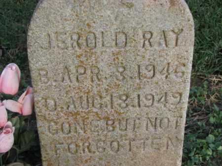 RAY, JEROLD - Poinsett County, Arkansas | JEROLD RAY - Arkansas Gravestone Photos