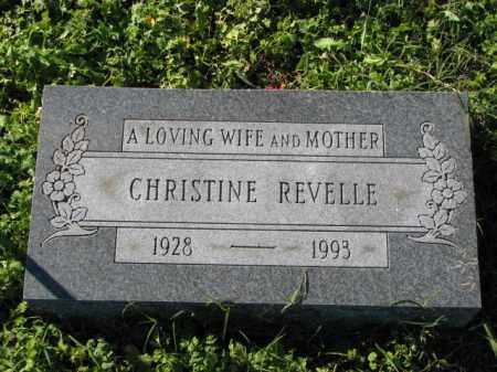 REVELLE, CHRISTINE - Poinsett County, Arkansas | CHRISTINE REVELLE - Arkansas Gravestone Photos