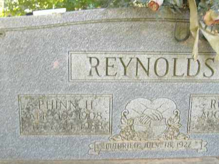 REYNOLDS, PHINN H. - Poinsett County, Arkansas | PHINN H. REYNOLDS - Arkansas Gravestone Photos