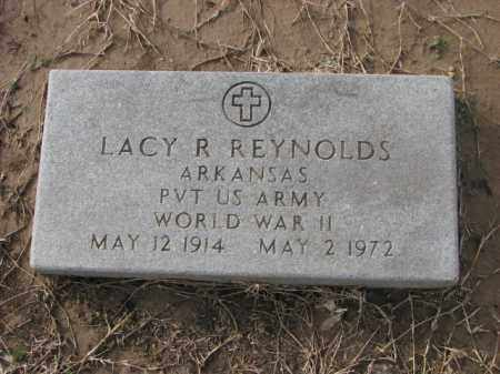 REYNOLDS (VETERAN WWII), LACY R - Poinsett County, Arkansas | LACY R REYNOLDS (VETERAN WWII) - Arkansas Gravestone Photos