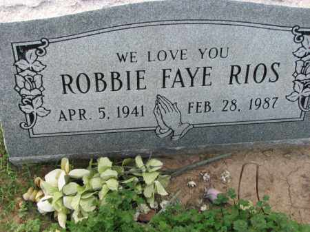 RIOS, ROBBIE FAYE - Poinsett County, Arkansas | ROBBIE FAYE RIOS - Arkansas Gravestone Photos