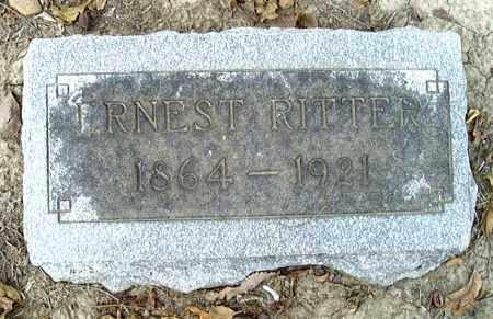 RITTER, ERNEST - Poinsett County, Arkansas | ERNEST RITTER - Arkansas Gravestone Photos