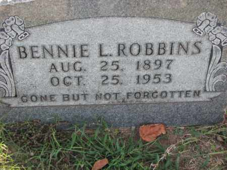 ROBBINS, BENNIE L. - Poinsett County, Arkansas | BENNIE L. ROBBINS - Arkansas Gravestone Photos