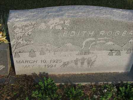 ROGERS, EDITH - Poinsett County, Arkansas | EDITH ROGERS - Arkansas Gravestone Photos