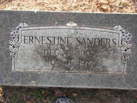 SANDERS, ERNESTINE - Poinsett County, Arkansas | ERNESTINE SANDERS - Arkansas Gravestone Photos