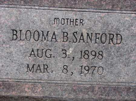 SANFORD, BLOOMA B. - Poinsett County, Arkansas   BLOOMA B. SANFORD - Arkansas Gravestone Photos
