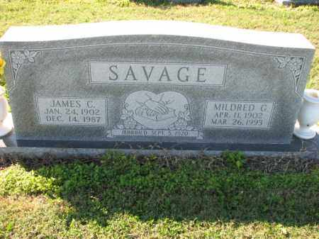 SAVAGE, MILDRED G. - Poinsett County, Arkansas | MILDRED G. SAVAGE - Arkansas Gravestone Photos