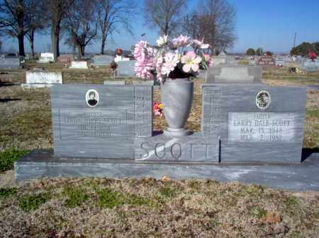 SCOTT, LARRY DALE - Poinsett County, Arkansas | LARRY DALE SCOTT - Arkansas Gravestone Photos