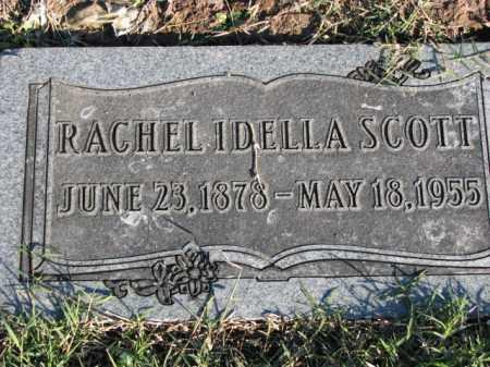 SCOTT, RACHEL IDELLA - Poinsett County, Arkansas | RACHEL IDELLA SCOTT - Arkansas Gravestone Photos