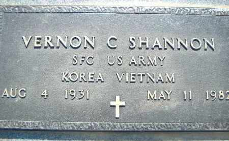 SHANNON  (VETERAN 2 WARS), VERNON C. - Poinsett County, Arkansas | VERNON C. SHANNON  (VETERAN 2 WARS) - Arkansas Gravestone Photos