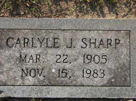SHARP, CARLYLE J. - Poinsett County, Arkansas | CARLYLE J. SHARP - Arkansas Gravestone Photos