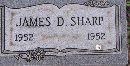 SHARP, JAMES D. - Poinsett County, Arkansas | JAMES D. SHARP - Arkansas Gravestone Photos